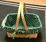 Wooden Basket with liner in Lockport, Illinois