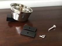 Stainless Steel Small Pet Bowl - Screw/Secure to Cage in Naperville, Illinois