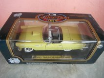 1955 Ford Thunderbird Convertible, yellow,  Die Cast 1:18 in Yucca Valley, California