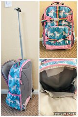 Unicorn rolling backpack from pottery barn. in Camp Pendleton, California