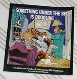 Vintage 1988 Calvin and Hobbs Something Under The Bed Is Drooling Soft Cover Comics Classic Chil... in Chicago, Illinois