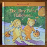 RARE American Girl The Bitty Twins Halloween Hard Cover Book NEW in Chicago, Illinois