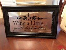 decor wine sign in Baytown, Texas