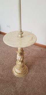 marble table lamp in Chicago, Illinois