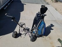 Left hand Golf Clubs and bag in 29 Palms, California