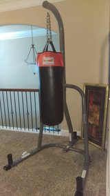 Everlast Punching Stand with Bag in Byron, Georgia