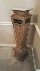 ANTIQUE ORIGINAL NEOCLASSICAL FRENCH NAPOLEON EMPIRE PEDESTAL in Kingwood, Texas