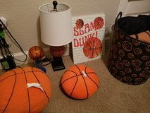 Basketball Theme Room Decor - 15 pieces in Travis AFB, California