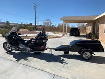 Honda Goldwing GL1800 with trailer in 29 Palms, California