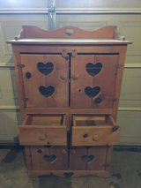 Hand made kitchen hutch all wood in Fort Campbell, Kentucky