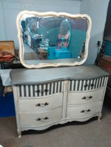 Shabby Chic French Provenical Dresser 6 Drawer in Leesville, Louisiana