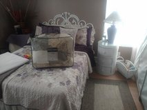 White Wicker bedroom set for sale!! in Fort Campbell, Kentucky