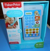 (R2) Fisher Price Leave a Message Smartphone Blue (New) in Spring, Texas