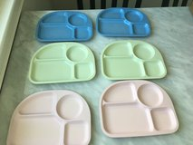Pottery Barn Kids Melamine Divided Plates in Westmont, Illinois