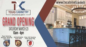 Texas Cabinetry Kitchen & Bath Grand Opening!!! in The Woodlands, Texas