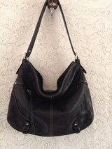 "Auth.""Tignanello"" shoulder purse in black genuine all cowhide leather in Yucca Valley, California"