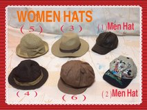 **VARIETY HATS AND FASHION STYLES* in Okinawa, Japan