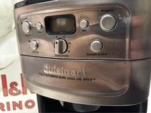 : ) Cuisinart 12 Cup Auto Grind Coffee Maker in Bolingbrook, Illinois