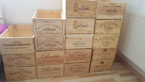 Chateau Wooden Wine Crates !!! in Stuttgart, GE
