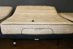 King adjustable frame- Avocado Green mattress (included) in Spring, Texas