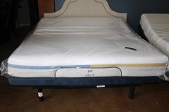 King adjustable frame- Helix dual Comfort mattress (included) in Spring, Texas