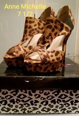 Women's cheetah print stilettos size 7 1/2. Anna Michelle in Fort Campbell, Kentucky