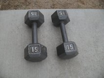 ^^  2 x 15lbs Weights  ^^ in 29 Palms, California