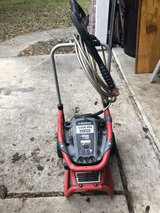 Husky pressure washer in The Woodlands, Texas