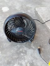 2 small black fans in 29 Palms, California