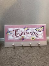 """Dream"" coat hook in Baytown, Texas"