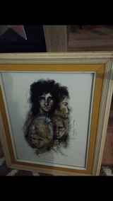 Turner wall art from the 1970s in Fort Campbell, Kentucky