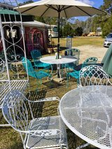 outdoor patio @ Thriftology in Cherry Point, North Carolina