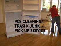LAST MIN PCS CLEANING&TRASH&JUNK REMOVAL SERVICE &FREE ESTIMATE in Ramstein, Germany