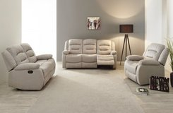 United Furniture - Chamant - Sofa-Loveseat-Chair - price includes delivery -also Dark Grey in Wiesbaden, GE