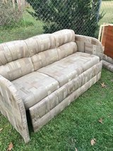 RV Jack knife couch, 66 inches wide, great shape in Byron, Georgia