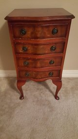 ANTIQUE FRENCH COUNTRY PROVINCIAL OAK NIGHTSTAND/SMALL DRESSER in Houston, Texas