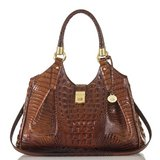 ***BRAHMIN Luxury Melbourne Collection Elisa Crocodile-Embossed Hobo Bag*** in The Woodlands, Texas