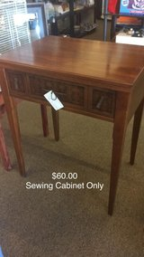 Sewing Machine Cabinet Only in Fort Leonard Wood, Missouri
