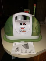 Bissell little green pro heat upholstery cleaner in Leesville, Louisiana