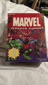 Marvel Trivia Game- Sealed 2003 in 29 Palms, California