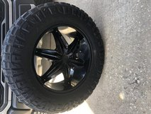 Nitto tires and Helo wheels in Spring, Texas