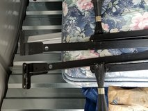 King size metal bed frame in Fort Campbell, Kentucky