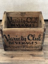 Vintage Soda Crate Variety Club in Fort Campbell, Kentucky