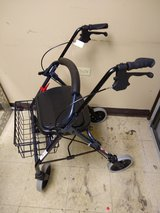 NOVA Cruiser Deluxe Rollator Walker in Naperville, Illinois