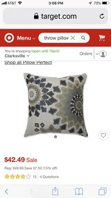Pair of Throw Pillows in Fort Campbell, Kentucky