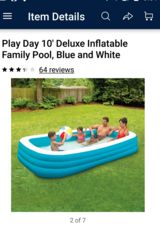 10' pool in Clarksville, Tennessee