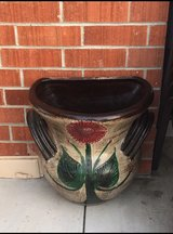 New 1/2 moon clay flower pot in Travis AFB, California