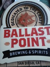 Ballast point neon sign in Fort Campbell, Kentucky