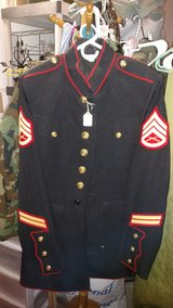 Dress Blues Blouse 40L Anondized Buttons in 29 Palms, California