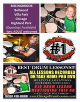 ** BEST DRUM LESSONS ** multiple locations in Bolingbrook, Illinois